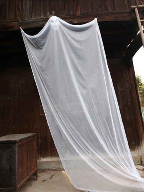 Halloween Mesh Hanging Spooky Ghost - WHITE