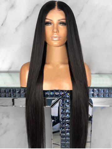 dresslily Center Parting Capless Straight Long Synthetic Wig