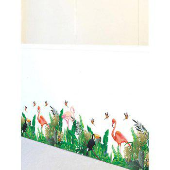 Autocollant mural amovible avec impression de papillon - multicolor