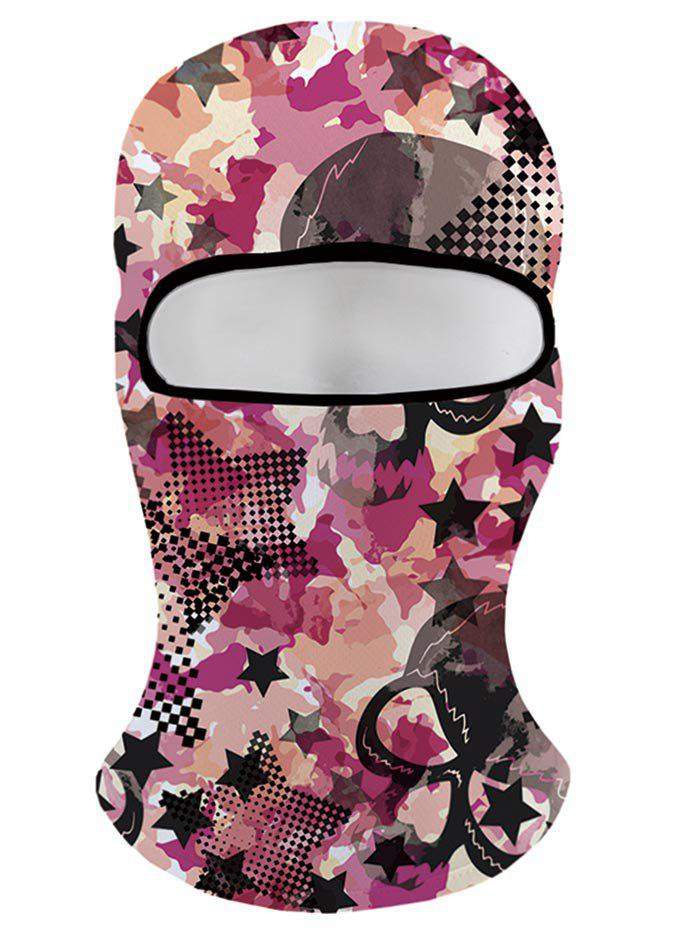 Winter Camouflage Face Mask Winter Beanie - multicolor