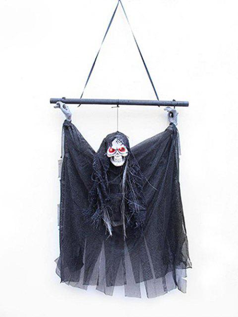 Halloween Decoration Hanging Ghost - BLACK