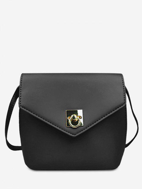 2019 Minimalist Solid Color Crossbody Bag In BLACK  d70104344fbfe