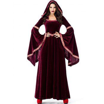 Dresslily coupon: Flare Sleeve Long Halloween Party Dress