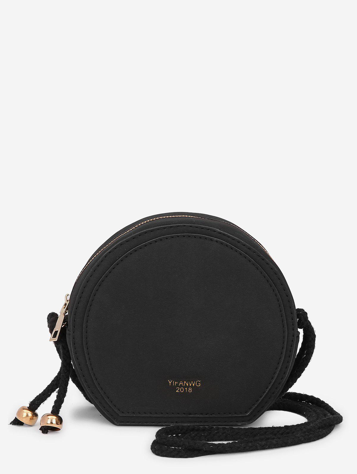 PU Leather Minimalist Crossbody Bag -