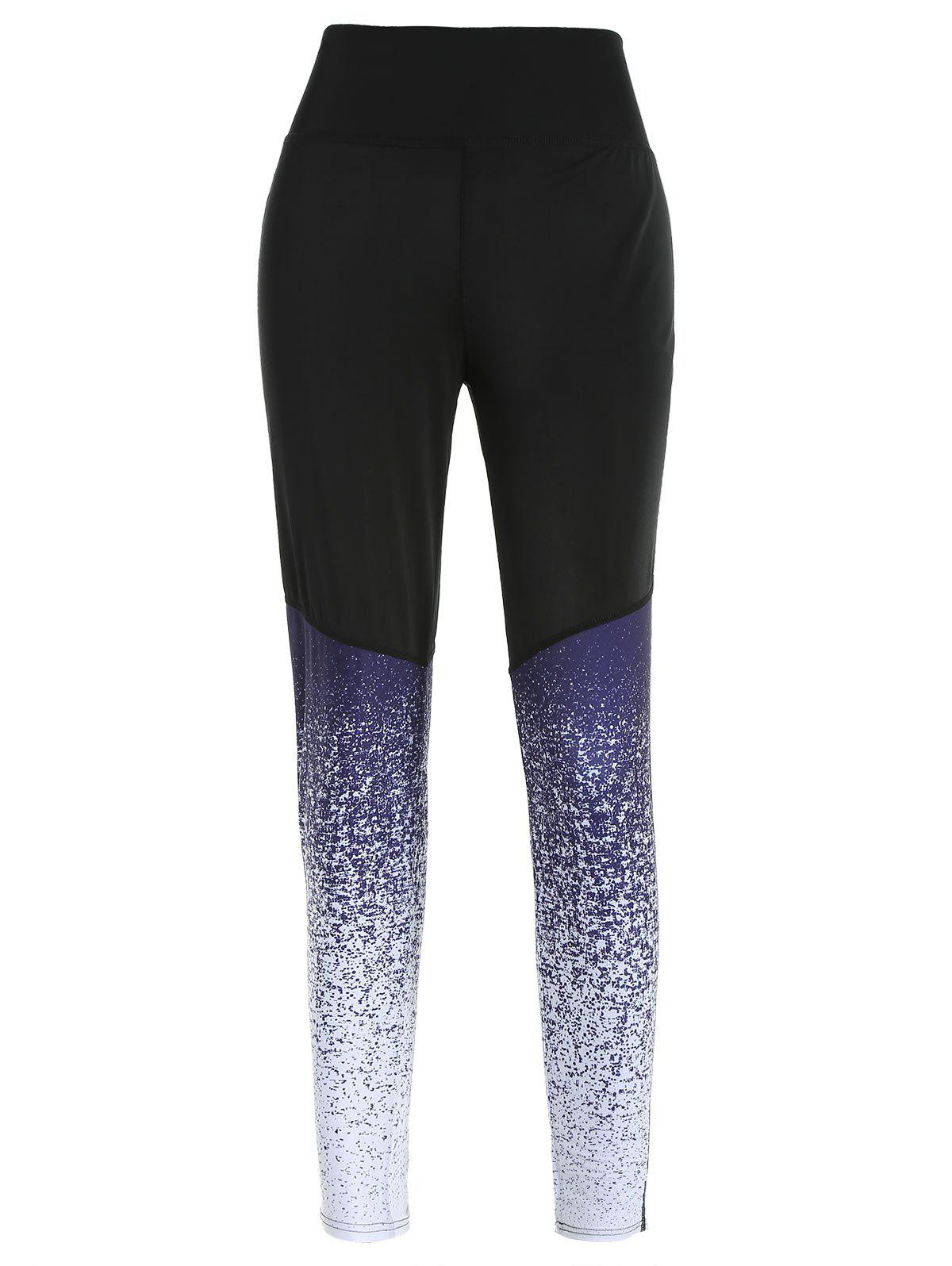 Ombre Color Sport Activewear Leggings 283275402