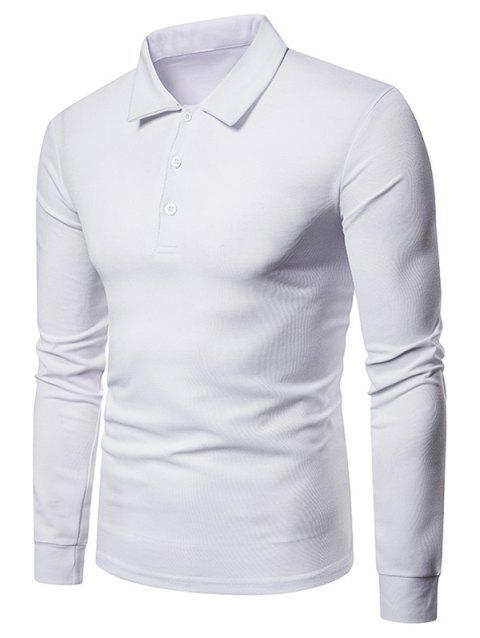 Whole Colored T-shirt - WHITE L