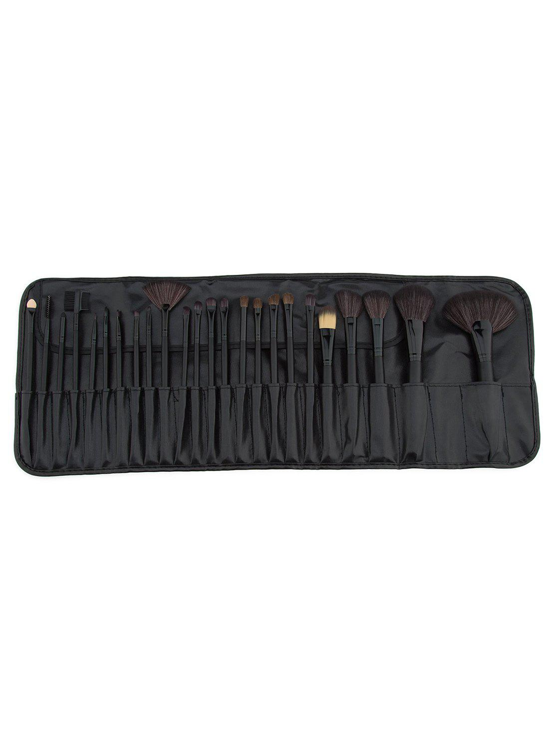 Beauty 24Pcs Cosmetic Brush Collection with Brush Storage Bag