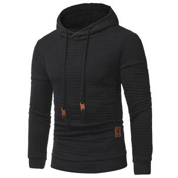 """<P>Applique Solid Long Sleeve Hoodie</P><I Class=""""Icon Down Js Tap Up Down""""></I> by Dress Lily"""