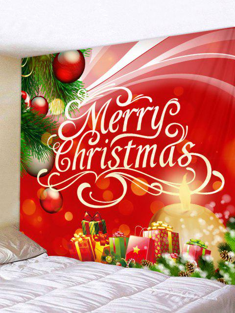 Christmas Gift Wall Tapestry Art Decoration - multicolor W91 X L71 INCH