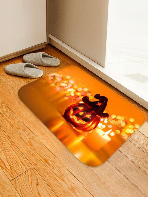 Tapis anti-dérapant Halloween - Orange Halloween W16 X L24 INCH