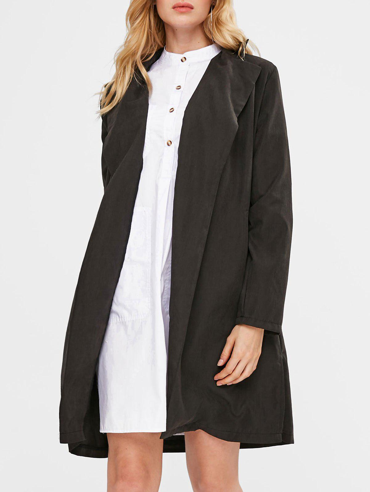 Manteau Long - Noir S