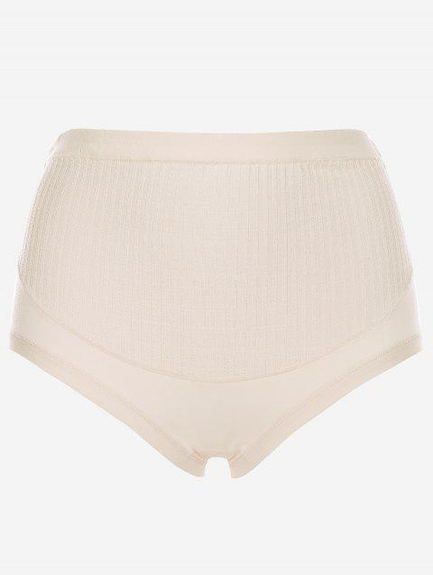 High Waisted Maternity Underwear - WARM WHITE ONE SIZE