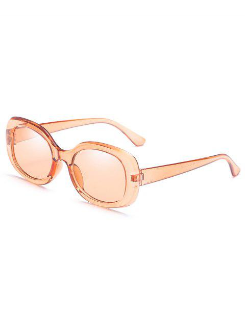 Vintage Full Frame Beach Holiday Sunglasses - CHAMPAGNE