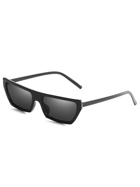 Lunettes de Soleil Rectangle Anti-Fatigues - Noir