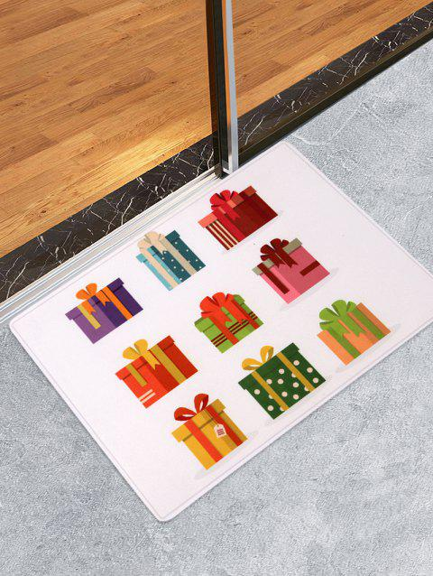Anti-skid Christmas Gifts Printed Area Rug - multicolor W24 X L35.5 INCH