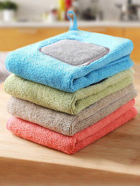 Kitchen Tool 4 Pcs Cleaning Towels - multicolor