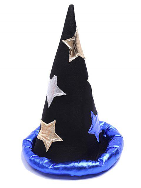 Novelty Star Magician Party Wizard Hat - multicolor