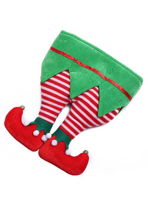 Stylish Christmas Trousers Novelty Party Hat - multicolor A