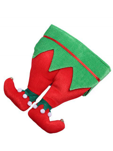Stylish Christmas Trousers Novelty Party Hat - multicolor B