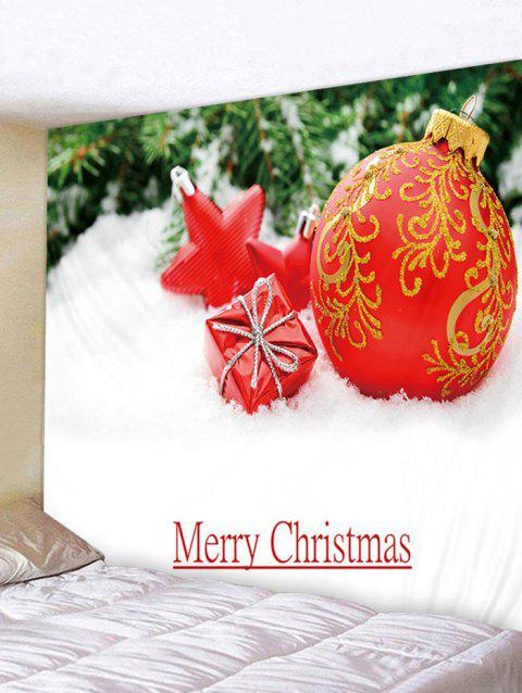 a7cb7597555 Christmas Ball Gift Star Tapestry Art Decoration - multicolor W91 X L71 INCH
