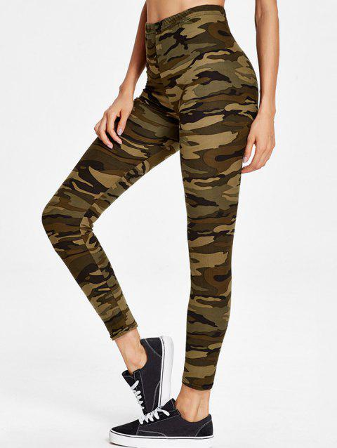 Pantalon Maigre Camouflage Extensible - multicolor ONE SIZE