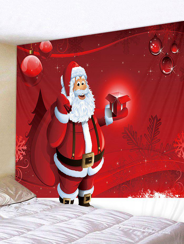 2018 Father Christmas Gift Printed Tapestry Art Decoration ...