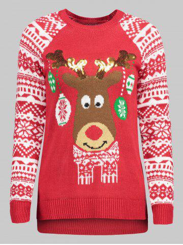 plus-size-christmas-reindeer-sweater