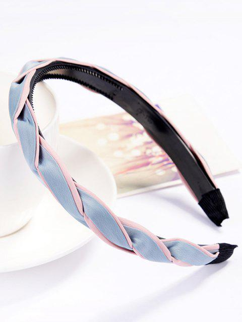 Vintage Solid Color Hair Decoration Hairband - LIGHT BLUE