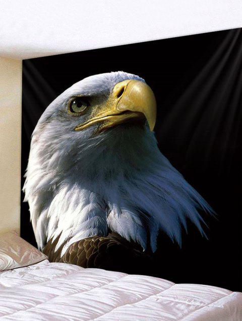 Eagle Print Tapestry Wall Hanging Decoration - multicolor W59 X L51 INCH