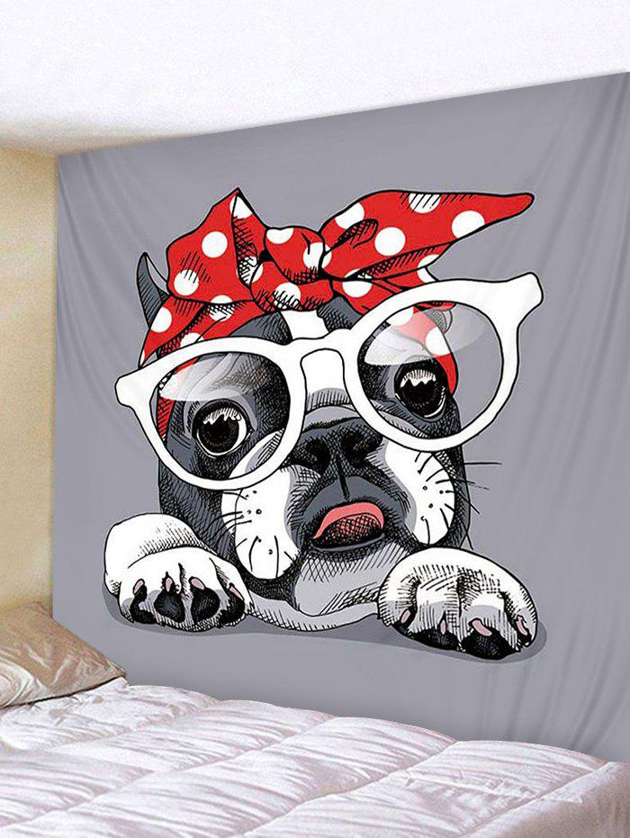 Dressed Dog Print Tapestry Wall Hanging Decoration 296976301