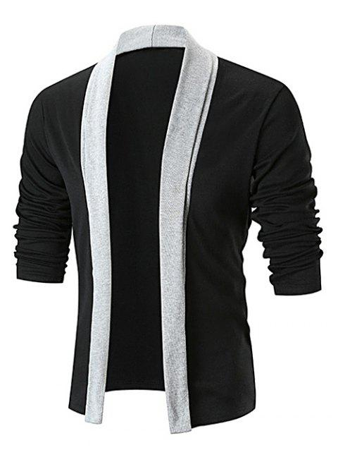 1828aa6da9 LIMITED OFFER  2019 Color Block Open Front Longline Cardigan In ...