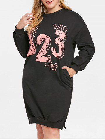 4fd152ad929 2019 Plus Size Sweatshirt Dress Online Store. Best Plus Size ...