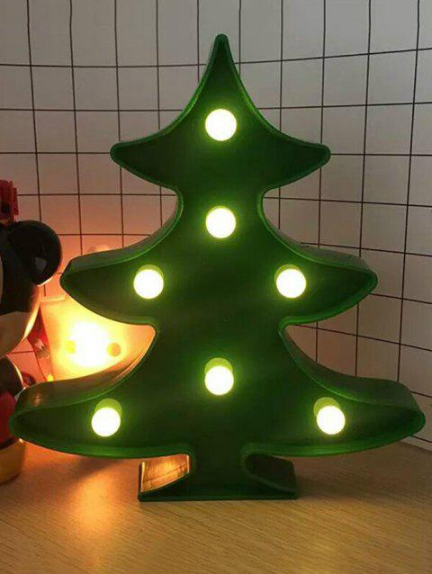 Christmas Tree LED Night Light - GREEN