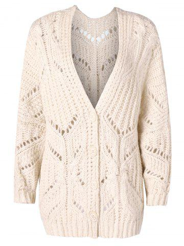 2019 Blue White Crocheted Sweaters Cardigans Online Store Best