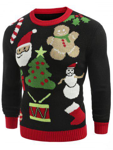 christmas-theme-printed-crew-neck
