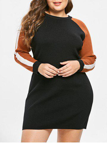 1985661086d 2019 Plus Size Mini Sweater Dress Best Online For Sale