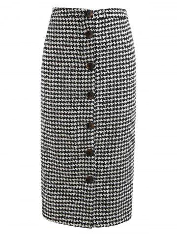 8fdc51e5dc381 2019 Houndstooth Skirt Online Store. Best Houndstooth Skirt For Sale ...