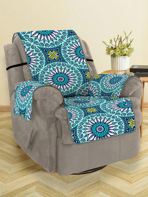 Mandala Pattern Couch Cover - multicolor SINGLE SEAT