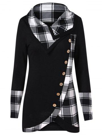 9e575538266 2019 Plaid Hoodie Best Online For Sale