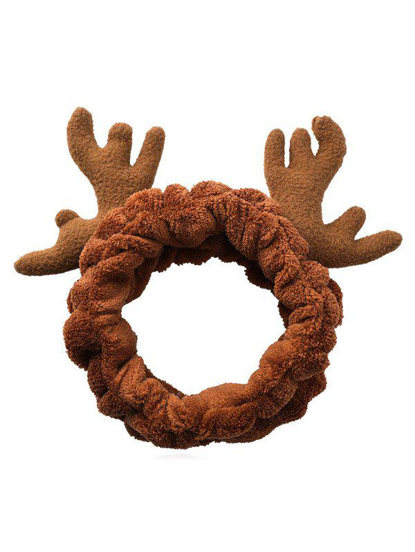 Christmas Antler Pattern Fluffy Hair Band