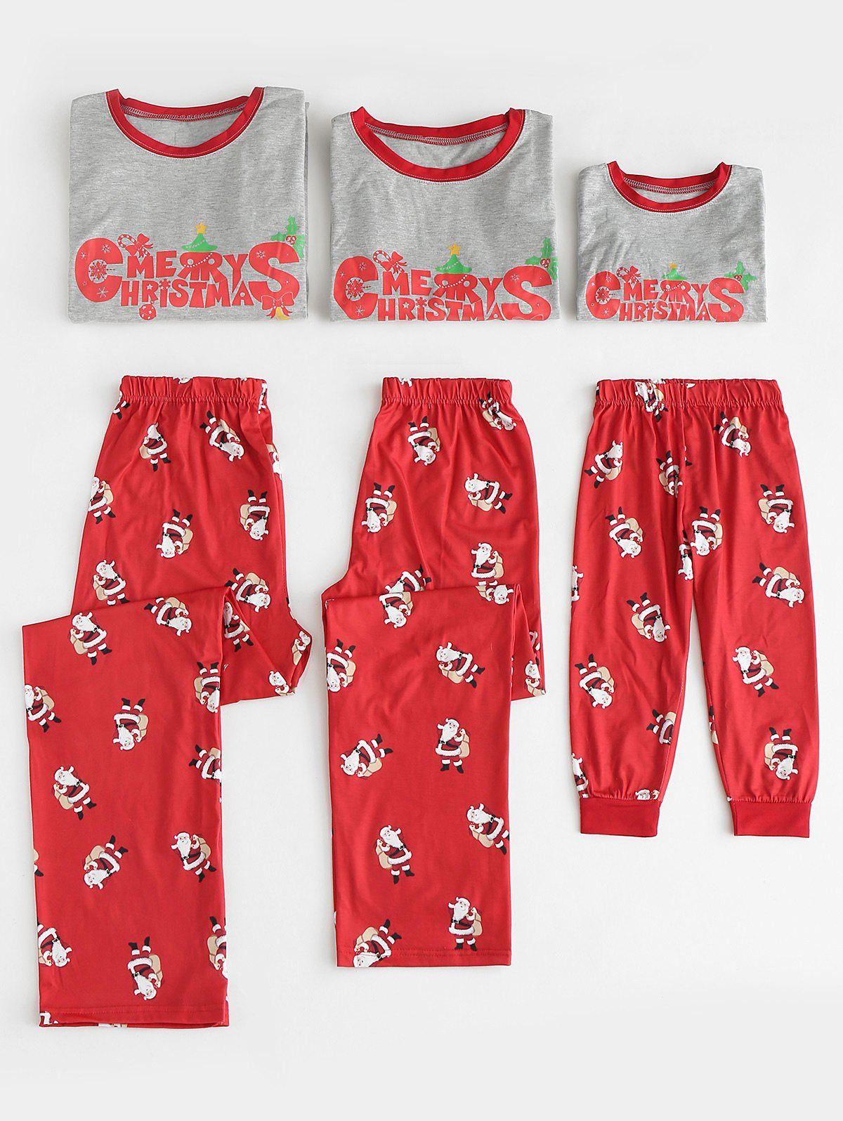 Christmas Print Family Matching Pajamas - multicolor DAD 2XL