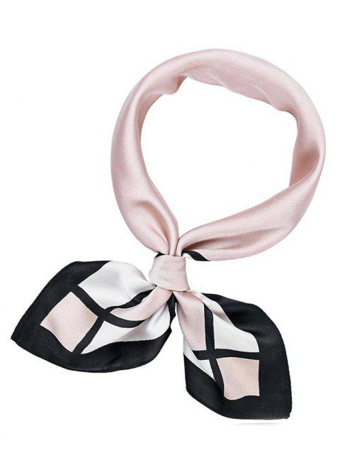 Cute Pink Square Handkerchief - PINK