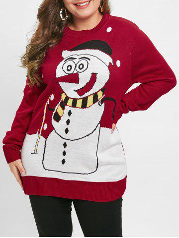 cfeb6603e48648 2019 Plus Size Graphic Sweater Online Store. Best Plus Size Graphic ...