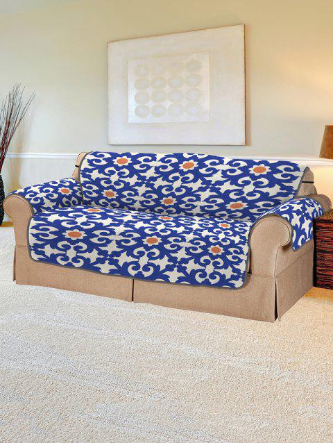 Vintage Pattern Couch Cover - multicolor TWO SEATS