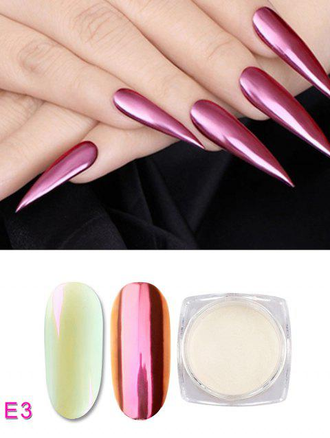 Nail Beauty DIY Shell Glimmer Nail Pigment Powder - 003