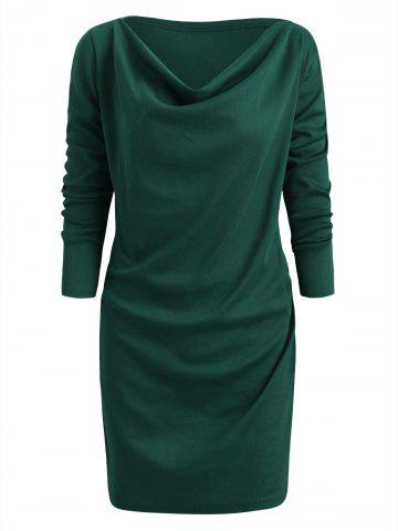 d4e820281f0 2019 Cowl Neck Dress Online Store. Best Cowl Neck Dress For Sale ...