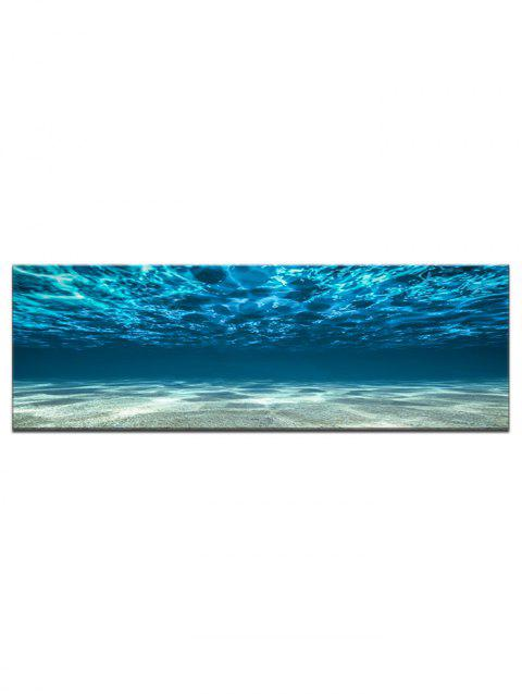 Sunbeams Seabed Water Wall Hanging Tapestry - multicolor 40*120CM*1