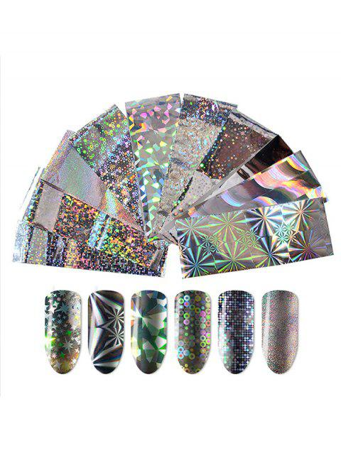Professioanl Full Nail Salon DIY Nail Sticker - 002