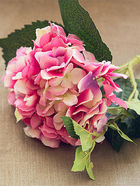 1PC Home Decor Artificial Hydrangea Flower - PINK CUPCAKE