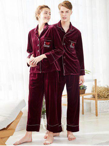 17% OFF  2019 Christmas Letter Matching Family Pajamas In VALENTINE ... 47d406b26